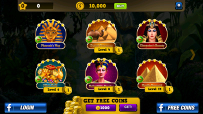 Screenshot 5 Slots — Fortunes of Luxor Egypt Jackpot Casino