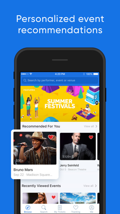 download SeatGeek – Tickets to Sports, Concerts & Broadway apps 1