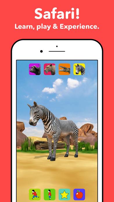 Zebra Safari Animals - Kids Game for 1-8 years old App ...
