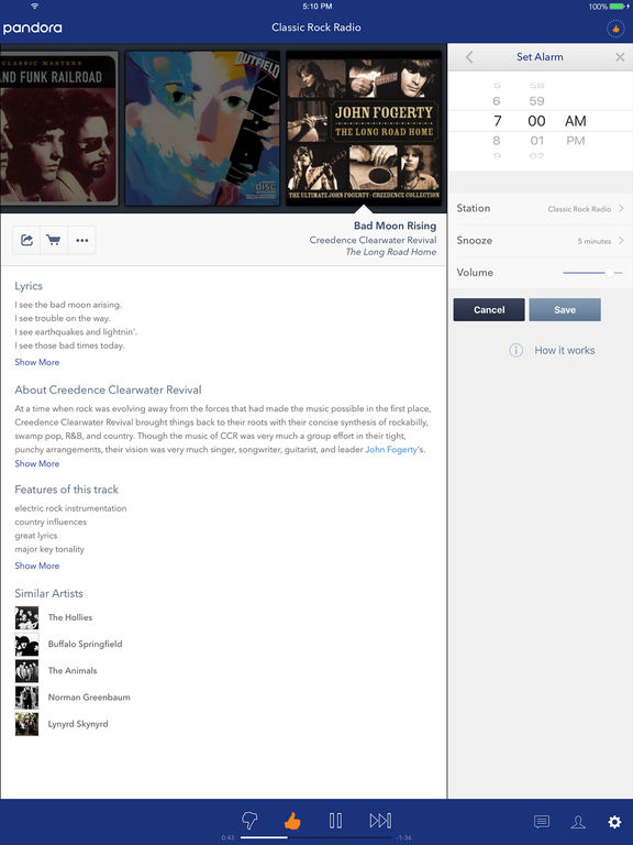 Screenshot #4 for Pandora - Music & Radio