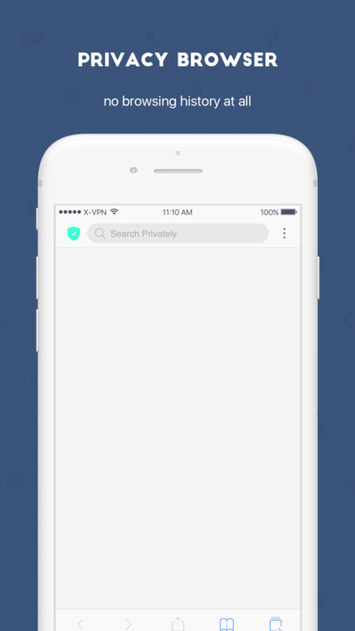 Screenshot for X-VPN - No Logs VPN Proxy & Wifi Privacy Security in United States App Store