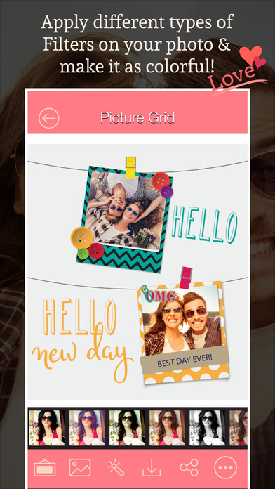 Picture Grid Art Frame screenshot 2