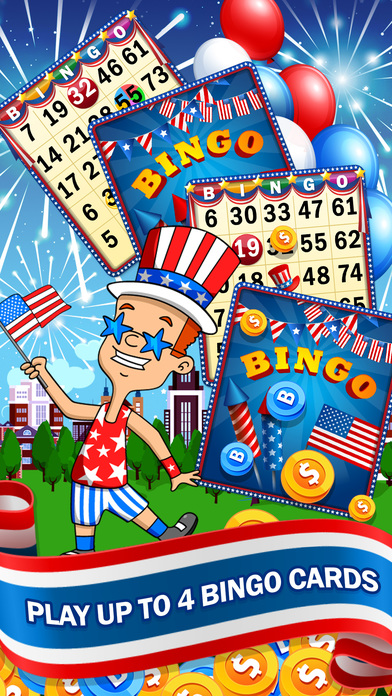 Screenshot 2 BINGO! Games of 4th of July Independence Day 2017
