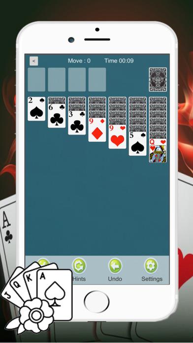 Screenshot 2 Solitaire Классический Fun Game Card Паук HD