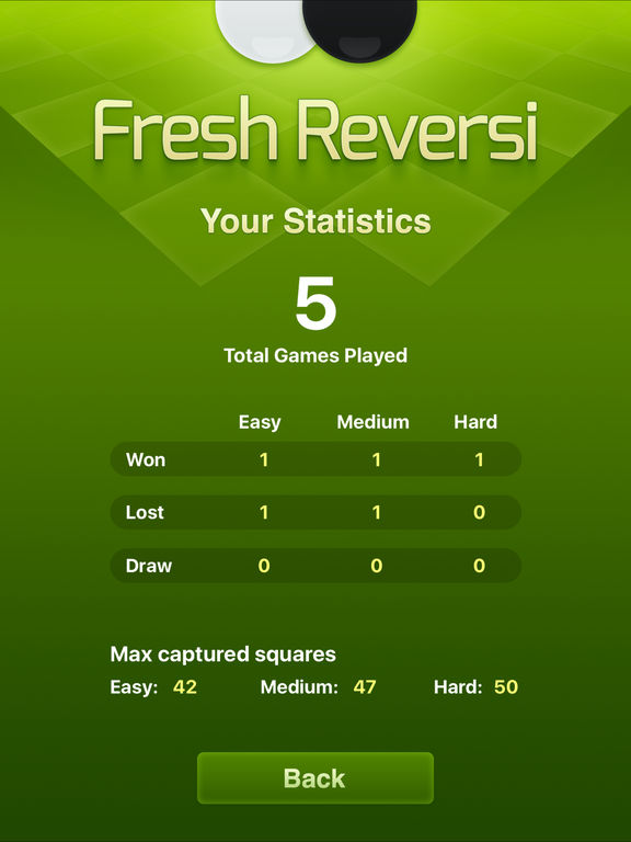 Screenshot #4 for Fresh Reversi - Othello Like Strategy Game