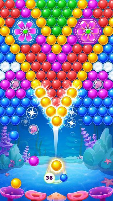 Screenshot 1 泡泡大作战-打泡泡的弹珠游戏2