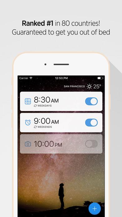 Alarmy Pro (Sleep If U Can) - Alarm Clock Screenshots