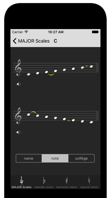Diatonic Scale Screenshots