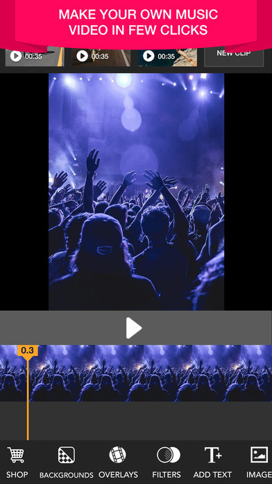 Music Video Maker Make Your Own Music Video Edit App