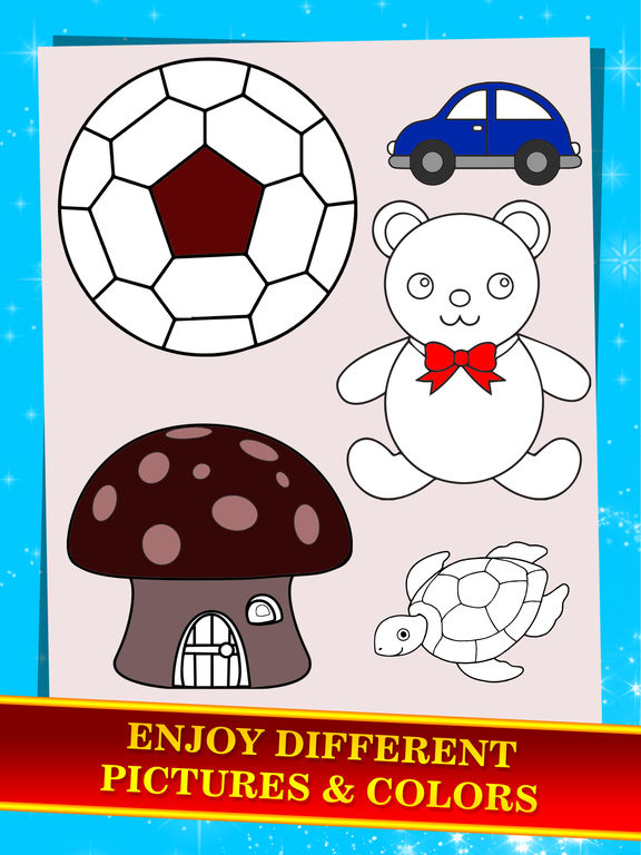 Puzzle: Kids Painting Coloring Book screenshot 10