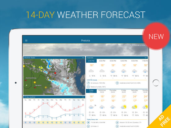 Weather & Radar Pro Ad-Free Screenshots