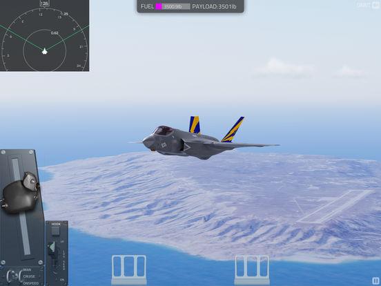 F35 Carrier Landing HD screenshot 7