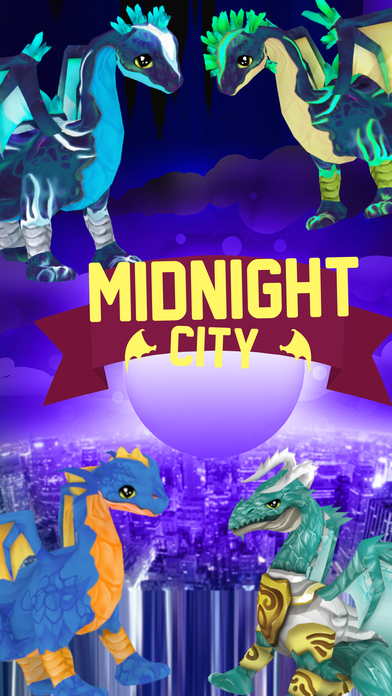 Midnight City Dragon Knights - Batman Version