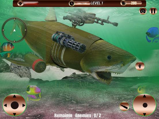 Angry Robot Shark Simulator screenshot 9
