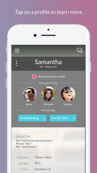 Dating app mutual friends