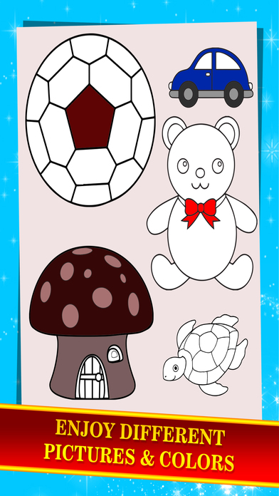 Puzzle: Kids Painting Coloring Book screenshot 5