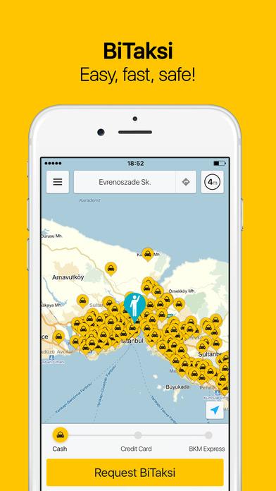 BiTaksi screenshot
