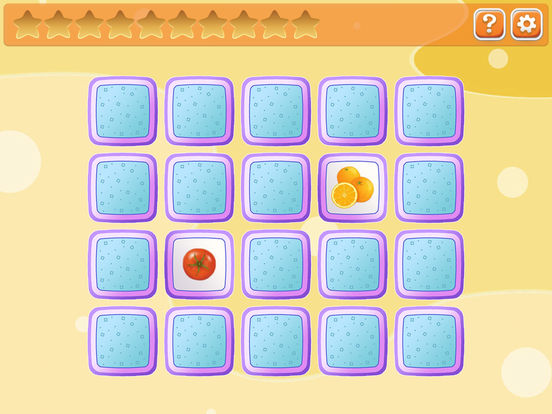 Memory for kids: fruit and vegetables screenshot 8