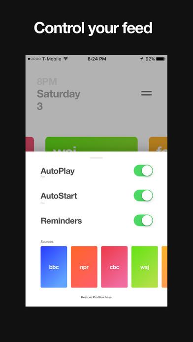 Funnel Screenshots