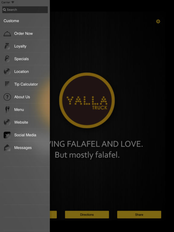 Yalla truck on the app store for M kitchen harbison sc menu