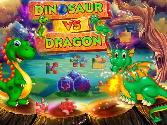 Dinosaur vs dragon: Puzzle screenshot 6