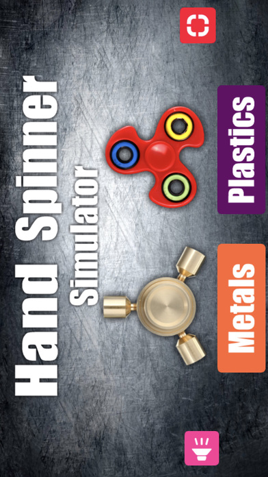 Hand Spinner Simulator. screenshot 1