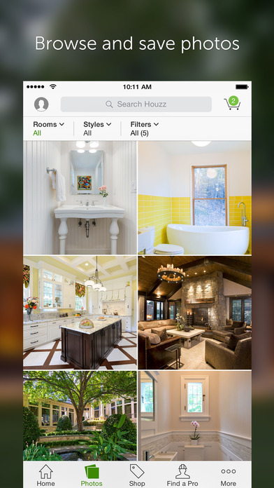 iphone screenshot 3 - Houzz Interior Design Ideas