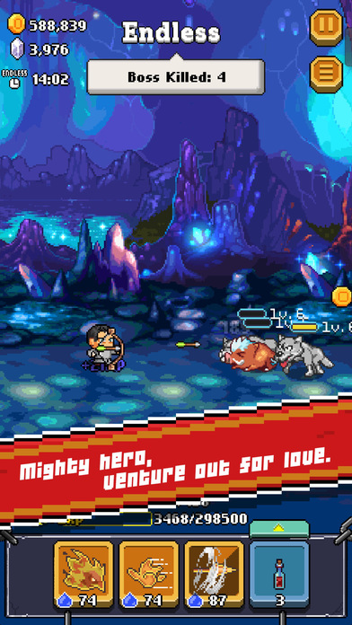 The Mighty Hero screenshot 4