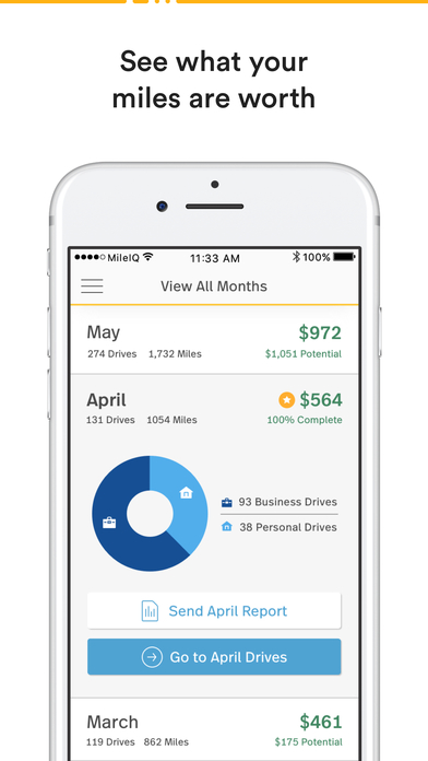 MileIQ Mileage Log – Free Business Expense Tracker on the App Store