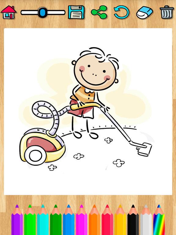 páginas para colorir para crianças - livro de ativ Por Belen Gonzalez