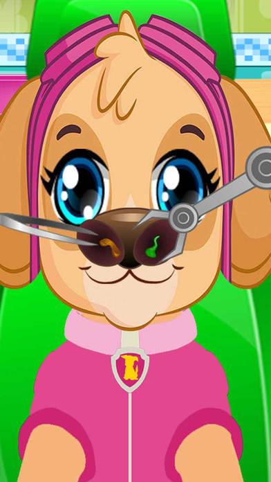 Pups Nose Doctor Kids Game screenshot 2