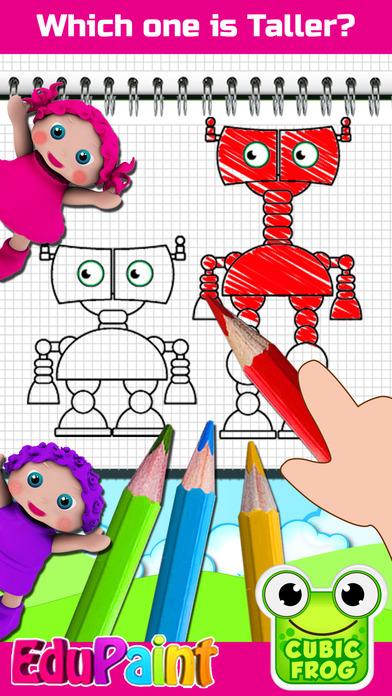 iphone screenshot 4 - Coloring Games For Preschoolers