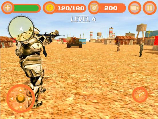 Superhero WAR: Army Counter Terrorist Attack screenshot 9