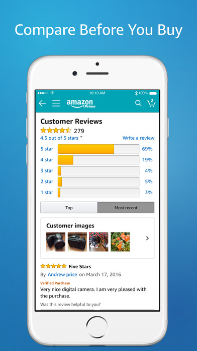 Amazon shopping made easy on the app store for New app ideas for iphone