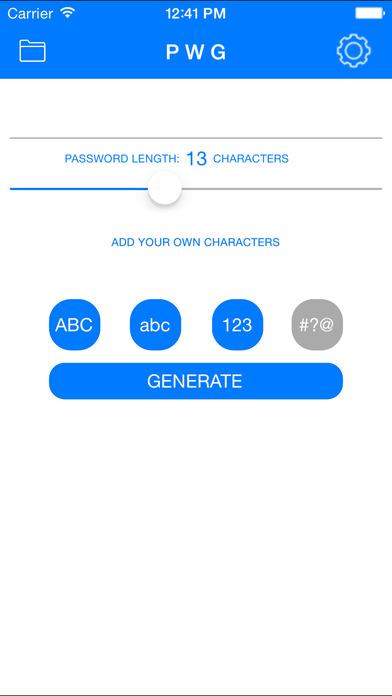 Random PW Generator Screenshots