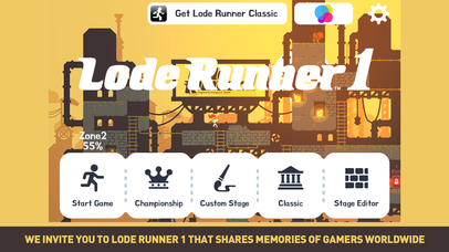 Lode Runner 1 the Top new Game in Apple App Store