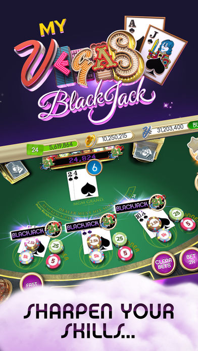 Where can i play 5 blackjack in vegas