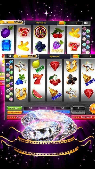 Screenshot 3 Mega Diamonds HD Casino — Play Classic Vegas Slots