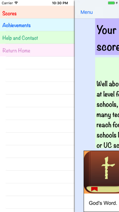 Screenshot #9 for ACTalented ACT Practice Tests