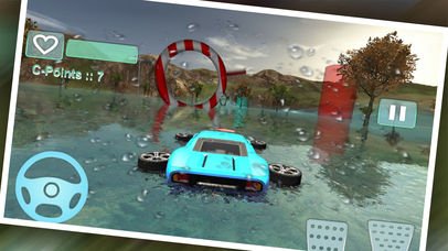 Water Car Stunt Driving Pro screenshot 1