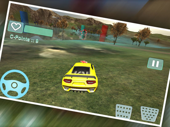 Water Car Stunt Driving Pro screenshot 7