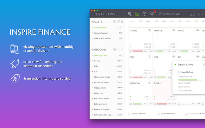 Inspire Finance Screenshots