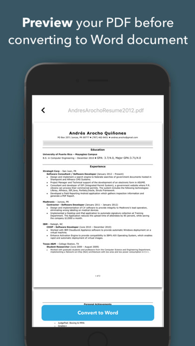 pdf to word converter app for android free download