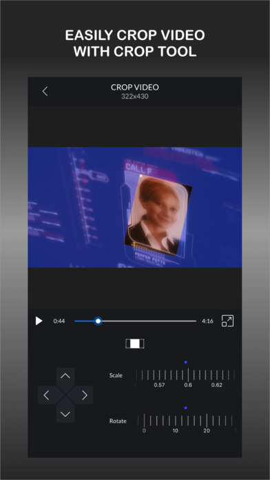 CrVid - Dynamic crop in your videos Screenshots