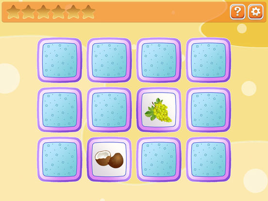 Memory for kids: fruit and vegetables screenshot 7