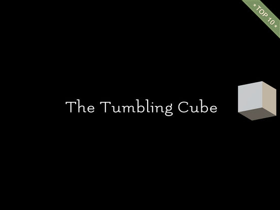 Tumbling Cube - A minimalist puzzler with a twist Screenshots
