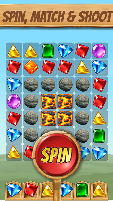 Cascade: Fun Spin and Match Puzzle Game