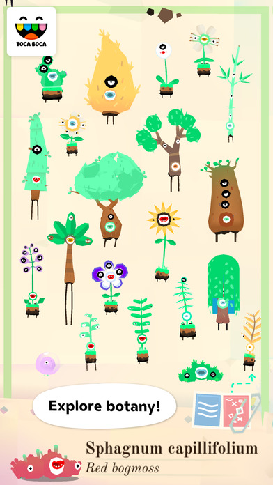 Toca Lab: Plants screenshot 1