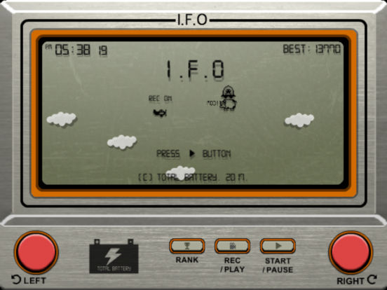 I.F.O iPad Screenshot 1