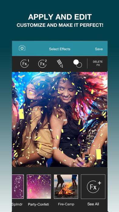 Lumyer - augmented reality camera effects screenshot 4